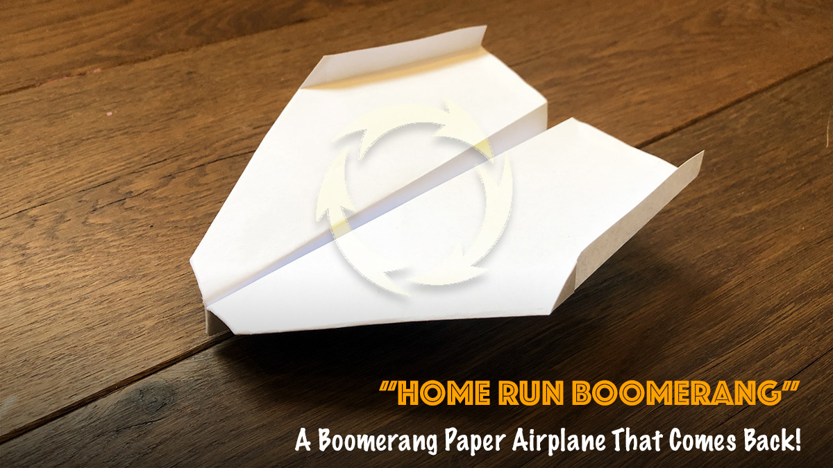 Origami Boomerang that Comes Back - Red Ted Art - Make crafting ... | 675x1200